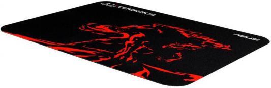 Коврик для мыши Asus Cerberus Mat Mini черный/красный 90YH01C3-BDUA00