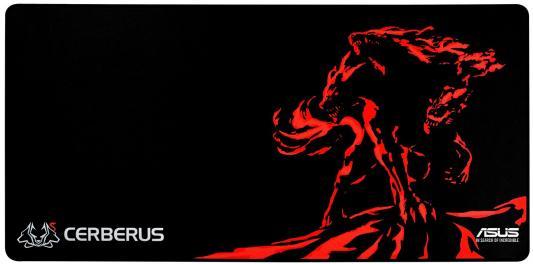 все цены на Коврик для мыши Asus Cerberus Mat XXL черный/красный 90YH01C1-BDUA00 онлайн