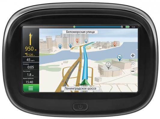 Навигатор Neoline Moto 2 4.3 480x272 4Gb microSD черный Navitel neoline wide s50