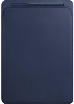 Чехол Apple Leather Sleeve для iPad Pro 12.9 синий MQ0T2ZM/A