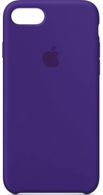 Накладка Apple Silicone Case для iPhone 7 iPhone 8 фиолетовый MQGR2ZM/A накладка apple silicone case для iphone 7 синий mmwk2zm a
