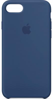 Накладка Apple Silicone Case для iPhone 7 iPhone 8 синий MQGN2ZM/A накладка apple silicone case для iphone 7 синий mmwk2zm a