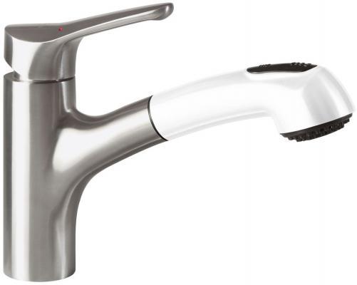 Смеситель Villeroy & Boch Primara  R1 White Alpin CeramicPlus серебристый белый 924202R1