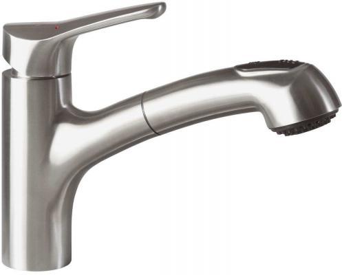 Смеситель Villeroy & Boch Primara  LC stainless steel massive серебристый 924200LC