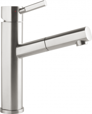 Смеситель Villeroy & Boch Como Style  LE stainless steel massive polished серебристый 925900LE