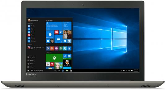 Ноутбук Lenovo IdeaPad 520-15 15.6 1920x1080 Intel Core i3-7100U ноутбук lenovo ideapad b5080 15 6 1366x768 intel core i3 5005u 80ew05ldrk