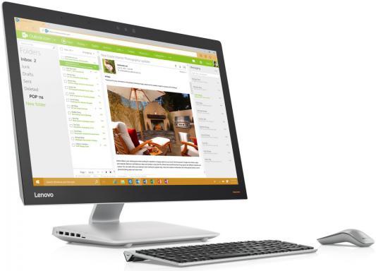 Моноблок 27 Lenovo IdeaCentre AIO 910-27ISH 1920 x 1080 Intel Core i7-7700T 8Gb 1Tb Nvidia GeForce GT 920A 2048 Мб Windows 10 Home серебристый F0C2006ARK