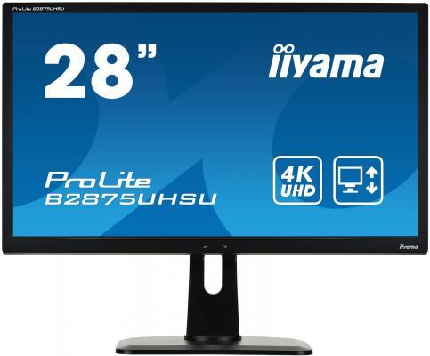 Монитор 28 iiYama B2875UHSU-B1 монитор iiyama prolite b2875uhsu b1