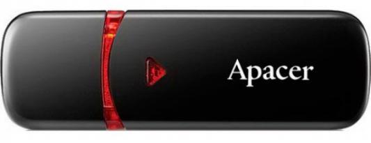 Флешка USB 64Gb Apacer AH333 AP64GAH333B-1 черный флешка usb 64gb apacer ah355 ap64gah355b 1 черный