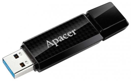 Флешка USB 32Gb Apacer Flash Drive AH355 AP32GAH355B-1 черный флешка usb 64gb apacer ah355 ap64gah355b 1 черный