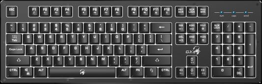 лучшая цена Клавиатура проводная Genius Scorpion K10 USB черный