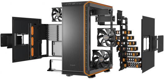 Корпус ATX Be quiet Dark Base 900 Orange Без БП чёрный оранжевый