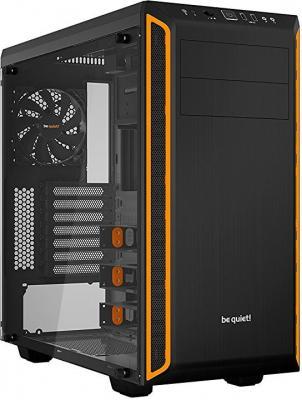 Корпус ATX Be quiet Pure Base 600 Без БП чёрный оранжевый BGW20 корпус atx be quiet pure base 600 без бп чёрный оранжевый