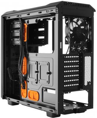 Корпус ATX Be quiet Silent Base 600 Без БП чёрный оранжевый BG005