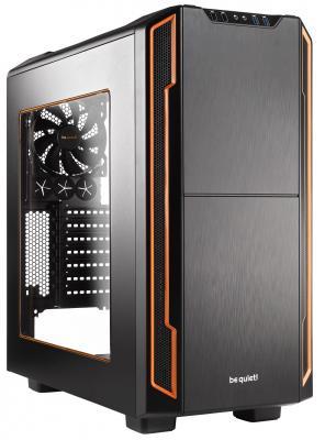Корпус ATX Be quiet Silent Base 600 Без БП чёрный оранжевый unique doorplate tag be beary quiet pink