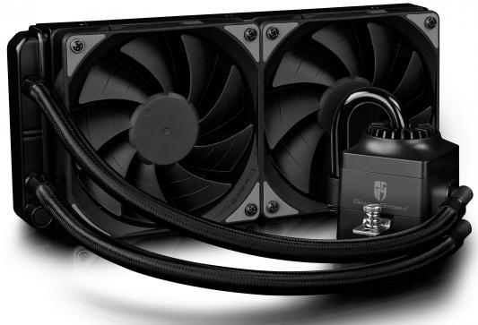 цена на Водяное охлаждение Deepcool Captain 240 EX RGB Socket 1150/1151/1155/1156/2066/1356/1366/2011/2011-3/AM2/AM2+/AM3/AM3+/FM1/AM4/FM2/FM2+