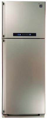 Холодильник Sharp SJ-PC58ACH серебристый холодильник sharp sj b236zr wh белый