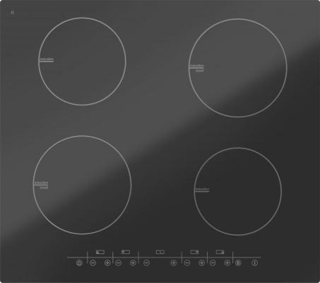 Варочная панель электрическая Дарина P EI305 B черный встраиваемая электрическая варочная панель smeg si 5633 b