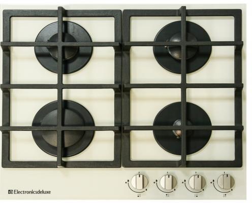 Варочная панель газовая Electronicsdeluxe GG4_750229F-030 бежевый