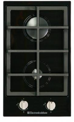 Варочная панель газовая Electronicsdeluxe TG2 400215F-007 черный