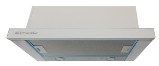 Вытяжка встраиваемая Electronicsdeluxe IREN GLASS ACB-SP60-S-W белый iren резинка для девочки rn20504470 жёлтый iren
