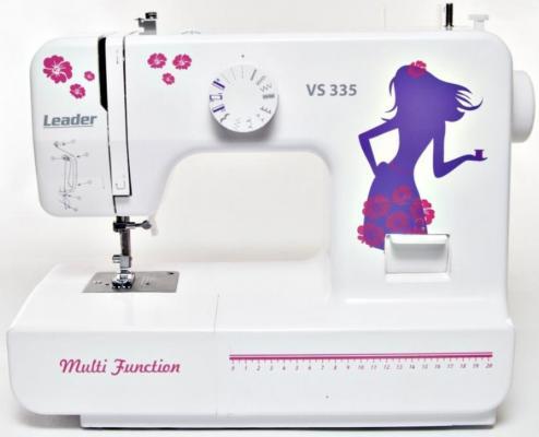 Швейная машина Leader VS335 белый от 123.ru