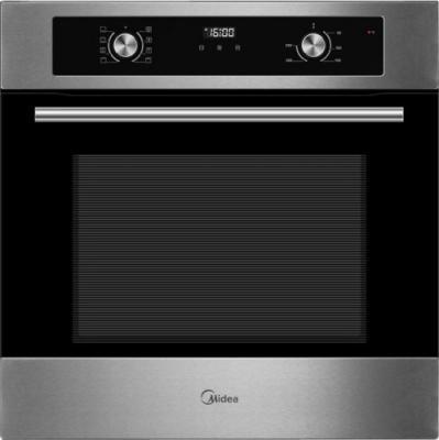 Электрический шкаф Midea MO670A4X серебристый/черный электрический шкаф midea 65dme40017 черный