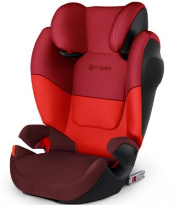 Автокресло Cybex Solution M-Fix SL (rumba red) ametoys оранжевый