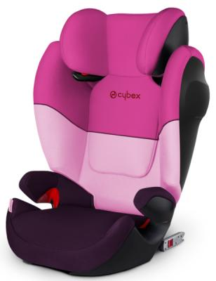 Автокресло Cybex Solution M-Fix SL (purple rain) автокресло cybex solution m fix sl pure black