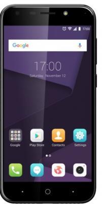 Смартфон ZTE Blade A6 черный 5.2 32 Гб LTE Wi-Fi GPS 3G смартфон zte blade a210 серый 4 5 8 гб lte wi fi gps 3g