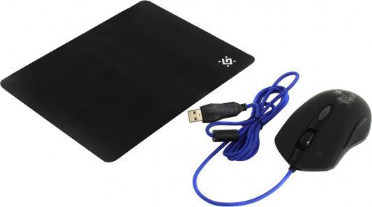 Мышь проводная Defender Sky Dragon GM-090L чёрный USB