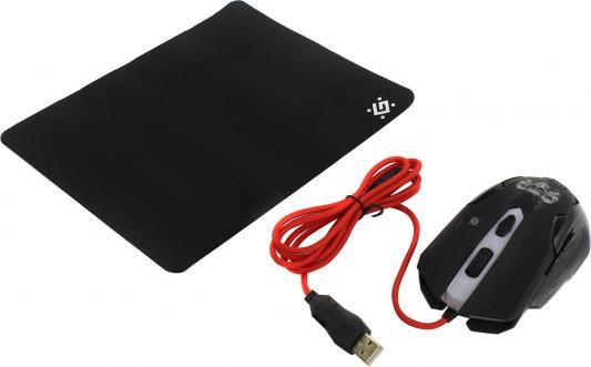 Мышь проводная Defender Skull GM-180L чёрный USB