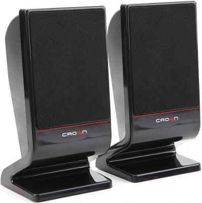 Колонки Crown CMS-601 2x3 Вт черный