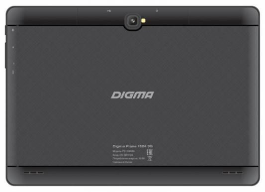 "Планшет Digma Plane 1524 3G 10.1"" 16Gb Black Wi-Fi 3G Bluetooth Android PS1136MG"