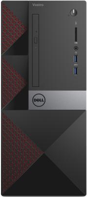 Системный блок DELL Vostro 3667 i3-6100 3.7GHz 4Gb 1Tb HD530 DVD-RW Win10 клавиатура мышь черный 3667-8116 системный блок hp 280 g2 sff i3 6100 4gb 500gb ssd dvd rw win10pro клавиатура мышь черный y5p86ea