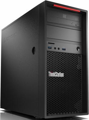 Фото Системный блок Lenovo ThinkStation P320 i7-7700 3.6GHz 8Gb 1Tb P600-2Gb DVD-RW Win10Pro клавиатура мышь черный 30BH0006RU системный блок