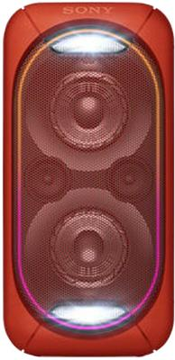 Минисистема Sony GTK-XB60 красный цена и фото