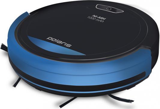 Робот-пылесос Polaris PVCR 0410 сухая уборка чёрный синий