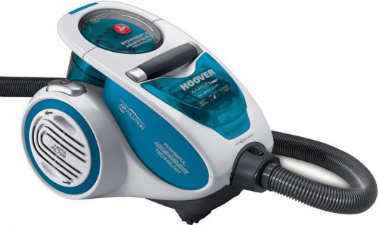Пылесос Hoover XARION PRO сухая уборка голубой TXP1520 019 пылесос hoover txp 1510 019 xarion pro