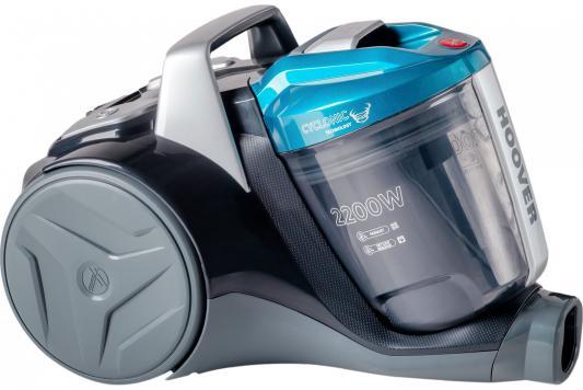Пылесос Hoover BR2230 019 сухая уборка чёрный голубой пылесос hoover txp 1520 019 xarion pro
