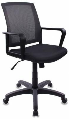 Кресло Бюрократ CH-498/DG/TW-12 серый кресло бюрократ ch 799axsn на колесиках ткань темно серый [ch 799 dg tw 12]