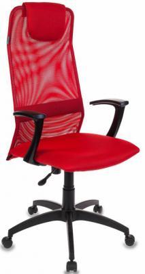 Кресло Бюрократ KB-8/R/TW-97N красный кресло руководителя бюрократ kb 8 красный