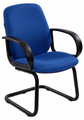 Кресло Бюрократ CH-808-LOW-V/BLUE синий