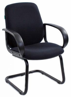 Кресло Бюрократ CH-808-LOW-V/BLACK черный цена