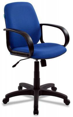 Кресло Бюрократ CH-808-LOW/BLUE синий кресло бюрократ престиж ткань [престиж синий]