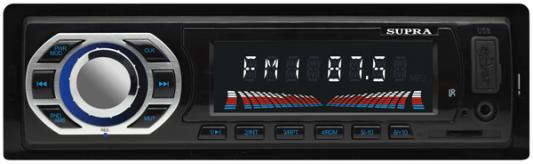 Автомагнитола Supra SFD-40U USB MP3 FM 1DIN 4x40Вт черный usb автомагнитола supra sfd 40u