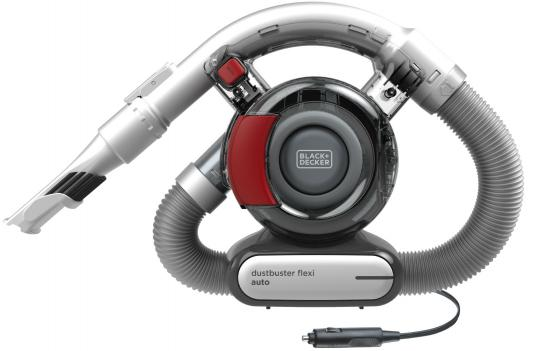 Автомобильный пылесос Black & Decker PD1200AV-XK сухая уборка серый красный black and decker pd1200av