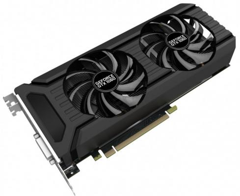 Видеокарта 6144Mb Palit GeForce GTX1060 PCI-E 192bit GDDR5 DVI HDMI DP HDCP NE51060015J9-1061D OEM видеокарта 6144mb msi geforce gtx 1060 6gt ocv1 pci e 192bit gddr5 dvi hdmi dp hdcp gtx 1060 6gt ocv1 retail