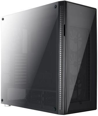 Корпус ATX Aerocool Quartz Pro Без БП чёрный