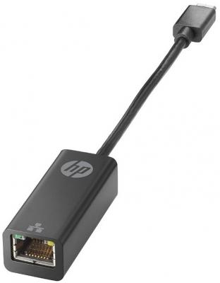 Переходник USB 3.1 Type-C на Ethernet RJ-45 10/100/1000 Mbps HP V8Y76AA 50pcs micro usb 3 0 male to usb c usb 3 1 type c female extension data cable for macbook tablet 10cm by fedex